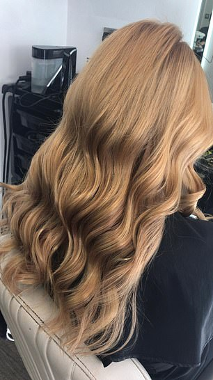 Mia had struggled with dry hair that had been damaged from years of wearing extensions but found a solution in Starpowa, which made a dramatic difference to her hair