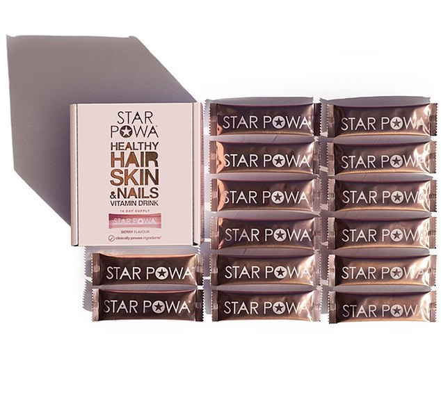 Starpowa is a 14-day supply of perfectly blended vitamins in a tasty drink, and is packed with ingredients clinically proven to help your hair, skin and nails