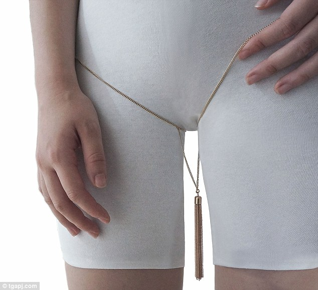 A website has become the first in the world to list thigh gap jewellery for sale encouraged by the worrying weight loss trend among young girls